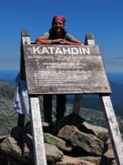 Me on top of Katahdin