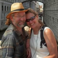 Debby and Randy in Italy