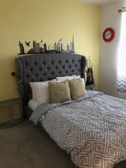 Our other guest bedroom available for us