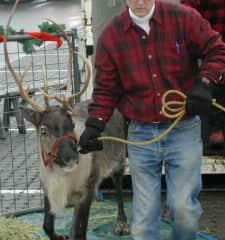 Doug with Sabrina Reindeer
