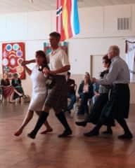 Scottish country dance demo