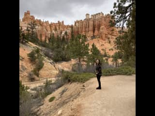 Gorgeous hike near Bryce Canyon, Utah ❤️