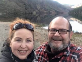 Glendalough, Co. Wicklow - fave walking spot in Ireland - Nov 2019