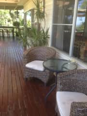 Relax on the deck