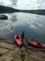 Kayaking in Quebec