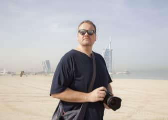 Me, in Dubai