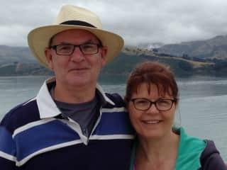 Mark and Karen Prince from Australia.