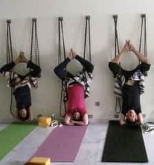 Yoga sessions with friends