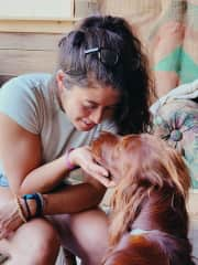 """My close friend's dog """"Happiness""""...how I feel when I'm with him"""