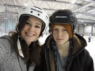 Maja and Kane.