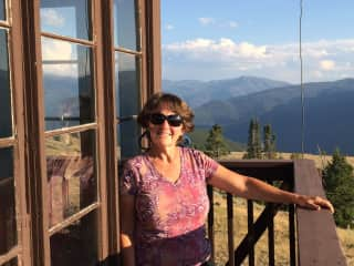 Backpacked into this wonderful Forest Service fire lookout last summer. SW Idaho.