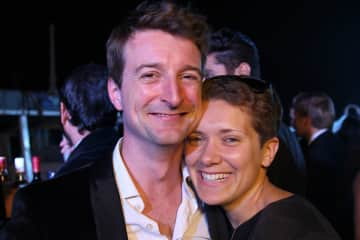 Wouter & Sonia celebrating a friend's wedding in India