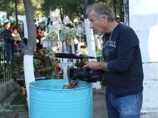 Dennis shooting Día de Los Locos