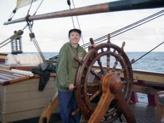 Atlantic crossing, tall ship Bounty, 2009