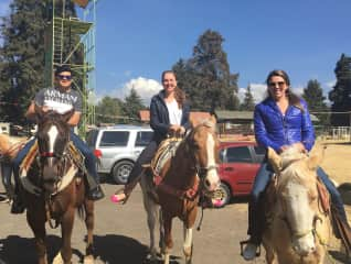 Horse-back riding in Mexico.