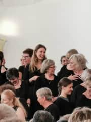 Michala at choir