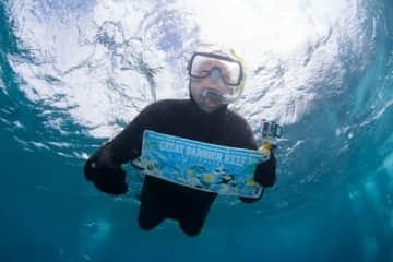 After pet sit Great Barrier Reef, Queensland, Australia