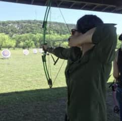 Target practice in the Texas Hill Country