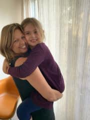 And, I'm happiest when I'm giving and receiving love from my granddaughter!