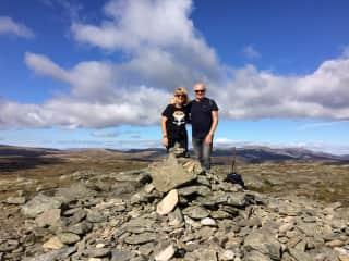 Climbing our first Munro  Scotland