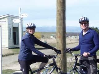 Keeping fit cycling the Otago Rail Trail