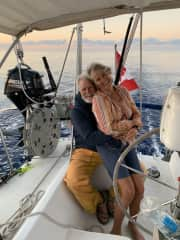 We are circumnavigating the world, slowly, on our sailboat. We have left our boat in New Zealand so we can visit Victoria.