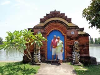 Hindu water temple Lombok Bali
