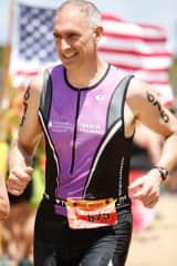 Leukemia & Lymphoma Society of America Fund-Raiser Triathlete