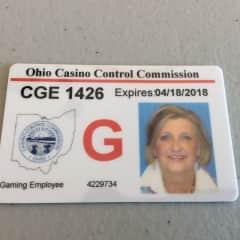 Diane's OH Gaming License, Proof of Drug, Backbround and Fingerprnt Testing