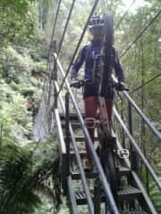Me mountain biking