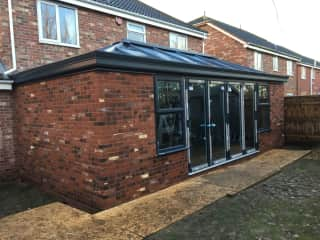 New extension  incorporating new kitchen