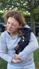 Cute little Omer and me, housesit in Belgium