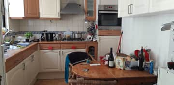 kitchen in small house