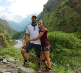 Completing our 120 mile trek around the Himalayas!