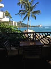 Elaine and Kevin in Waikiki
