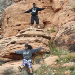 Red Rock Hike NEvada 2018