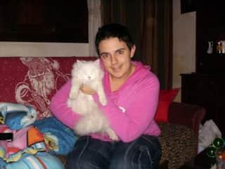 Tiffany with Bebina