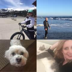 Marty & Robyn - Bike, Swim, Kitty & Bogey