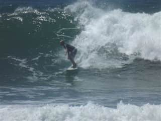 Nick is a great surfer!