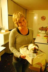 Marjolijn & little cat