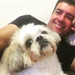 Me and my pet Mel