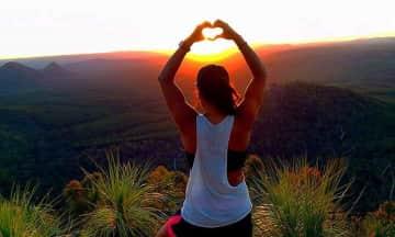 Love nature and hiking