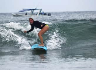 I spent a month and a half working at a surf camp in Costa Rica as a part of WorkAway and picked up a new hobby.