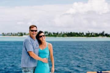 In the Maldives