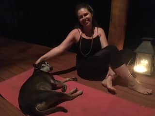 Yoga and animals!