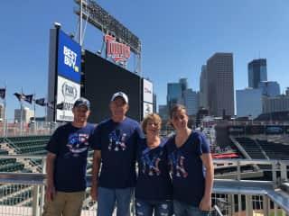 Bev, Russ, daughter and husband Brianna  &Travis