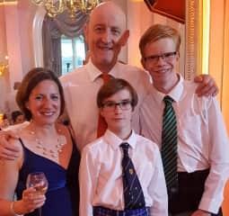 Graeme, Maria, Robert and Matthew