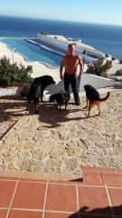 In Spanien mit Nero, Chico und Micha