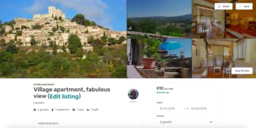 Our property in France that until September of 2018 we had on rental for the 4 years previously. We were declared Super Hosts by Airbnb and had 5 star reviews