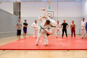 Judo practice